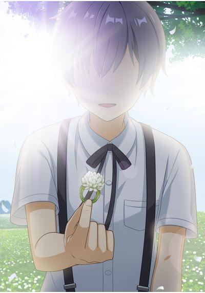 愛天使世紀 ウェディング・アップル_no.25しろつめ草の指輪を渡す少年